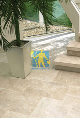 limestone tiles honed santa anna Gold Coast cleaning