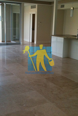 extra large porcelain floor tiles after cleaning empty room with kitchen Gold Coast