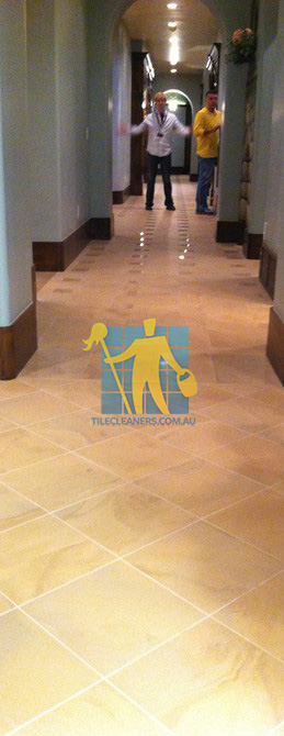 traditional entry with large porcelain tiles were laid in a basketweave pattern Gold Coast